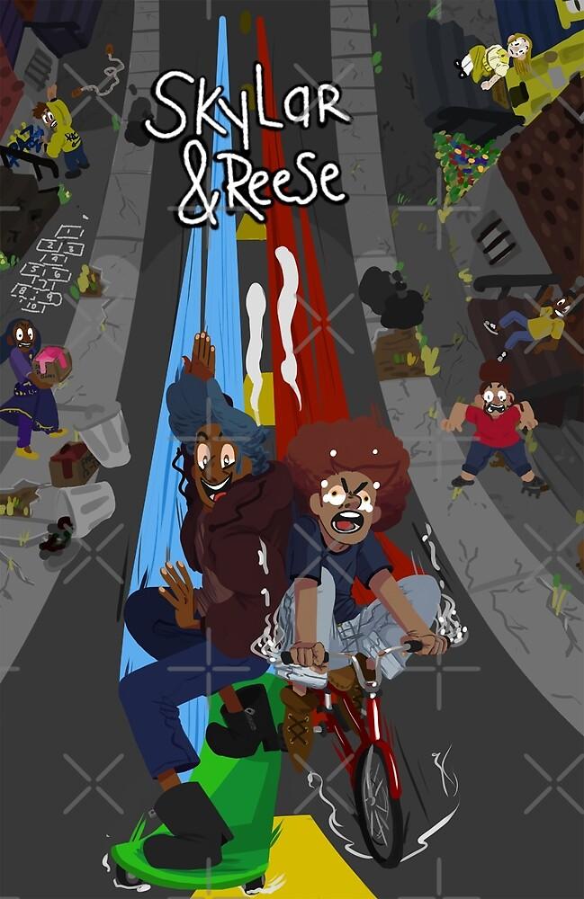 Skylar&Reese Poster by johneggerts