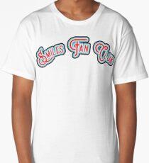 Smiles Fan Club - Red & Minty Blue Version Long T-Shirt