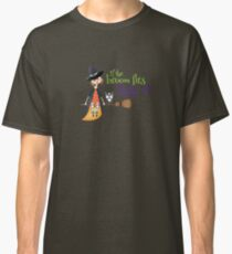 If The Broom Fits Ride It Classic T-Shirt