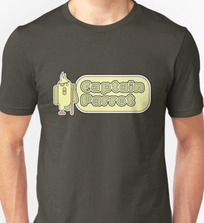 Captain Parrot (With Text) T-Shirt