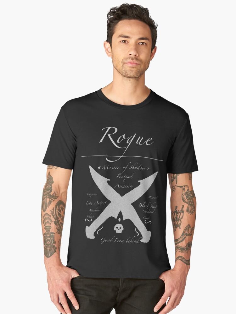 The Rogue Men's Premium T-Shirt Front