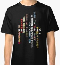 Radiohead Discography Classic T-Shirt