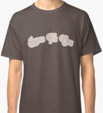 Smiles Fan Club - Pink & Portabello Brown Version Classic T-Shirt