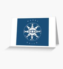 Mages Guild Greeting Card