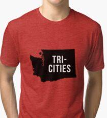 Tri-Cities, Washington Silhouette Tri-blend T-Shirt