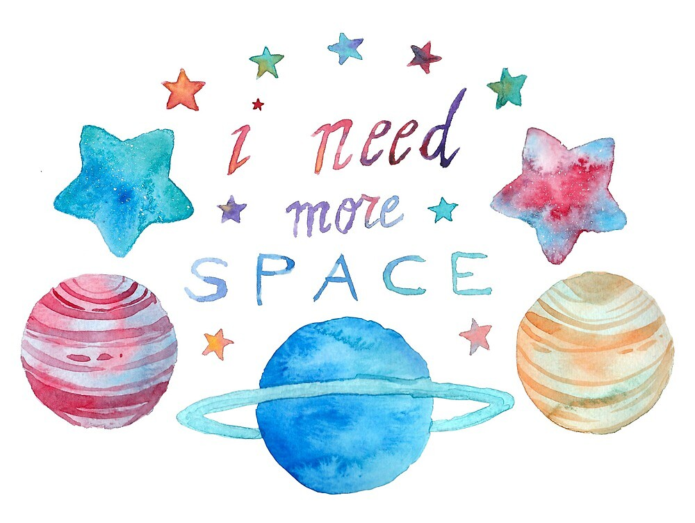 I Need More Space by serenyan