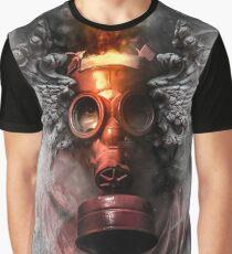 Smoke Rainbow Graphic T-Shirt