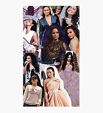 Demi Lovato College without Text 2017 Photographic Print