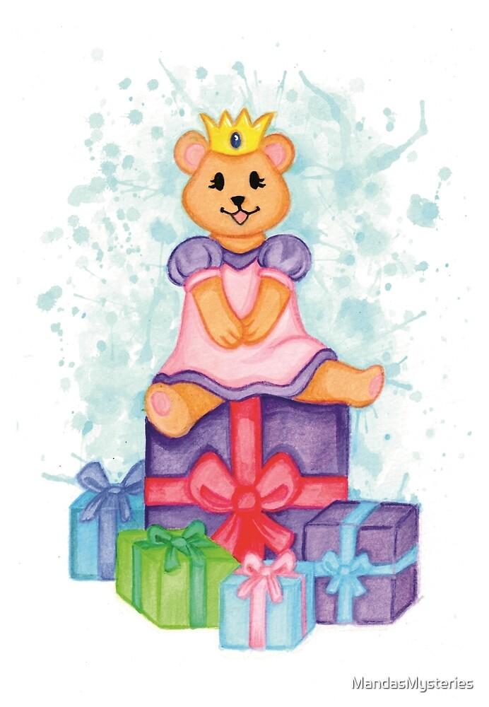 Princess Teddy by MandasMysteries