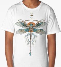 Dragon Fly Tattoo Long T-Shirt