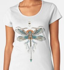 Dragon Fly Tattoo Women's Premium T-Shirt
