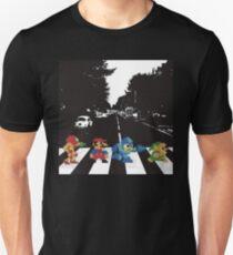 beatles nintndo mash up T-Shirt