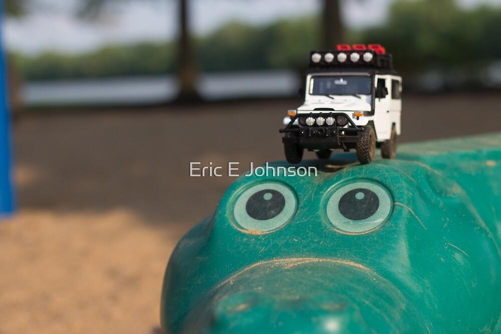 Big Boy Toy - Alligator by Eric Johnson