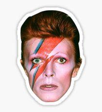David Bowie - Aladdin Sane Sticker