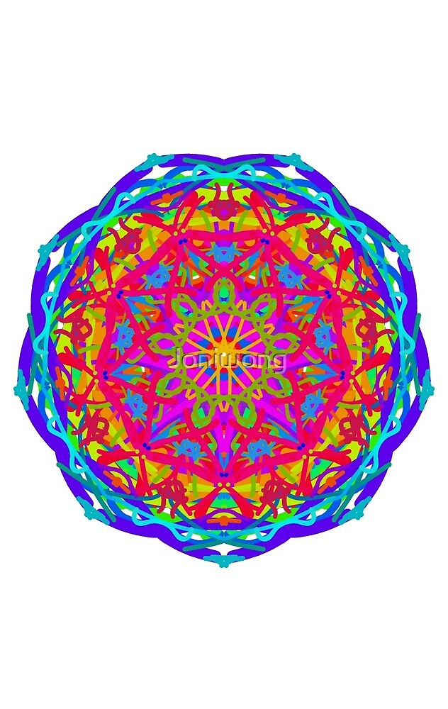 Kaleidoscope Art 2 by Joniwong