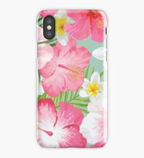 Tropical Flora iPhone Case