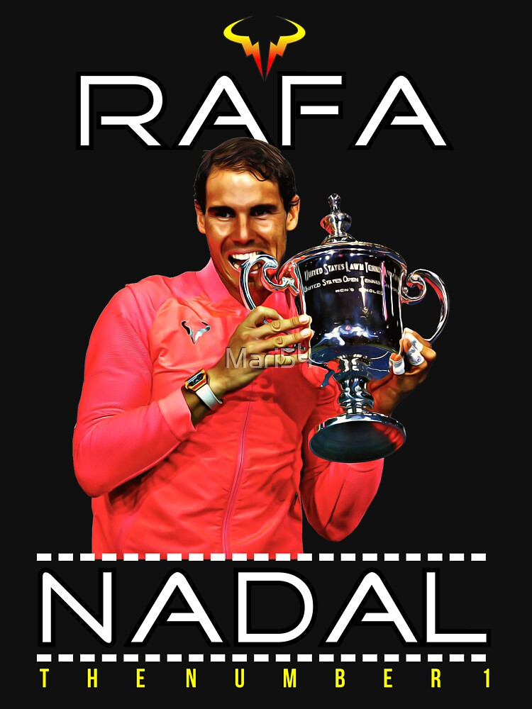 Rafa Nadal Number 1 by Mari54