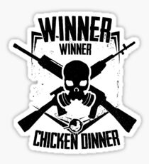 Winner Winner EMBLEM Sticker