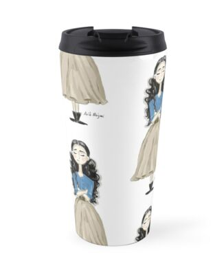 Tuba Buyukustun as Asi - Travel Mug by Arib Alajmi