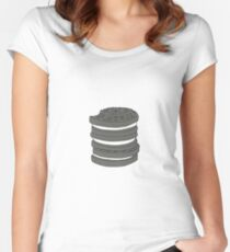 Oreo Dreamin' Women's Fitted Scoop T-Shirt