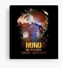 League of Legends NUNU Canvas Print
