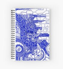 Indigo City Spiral Notebook