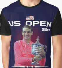 Us open champion Nadal Graphic T-Shirt