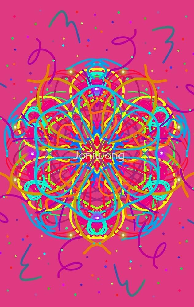 Kaleidoscope Art 3 by Joniwong