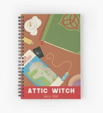 Charmed Affiche - Attic Witch  Spiral Notebook