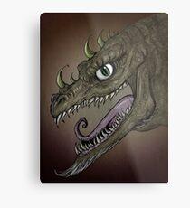 Dragon illustration Metal Print
