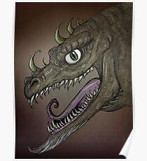 Dragon illustration Poster