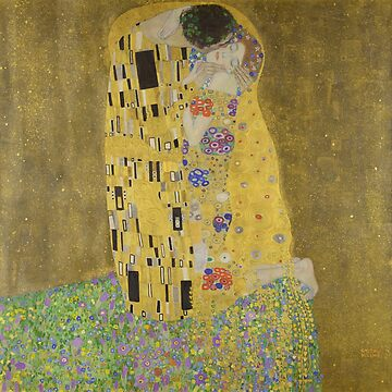 Gustav Klimt's The Kiss by mosfunky