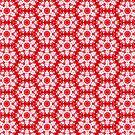 Christmas snow flakes pattern by Silvia Ganora