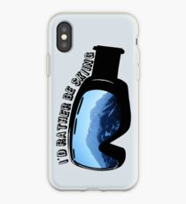 I'd Rather Be Skiing - Goggles iPhone Case