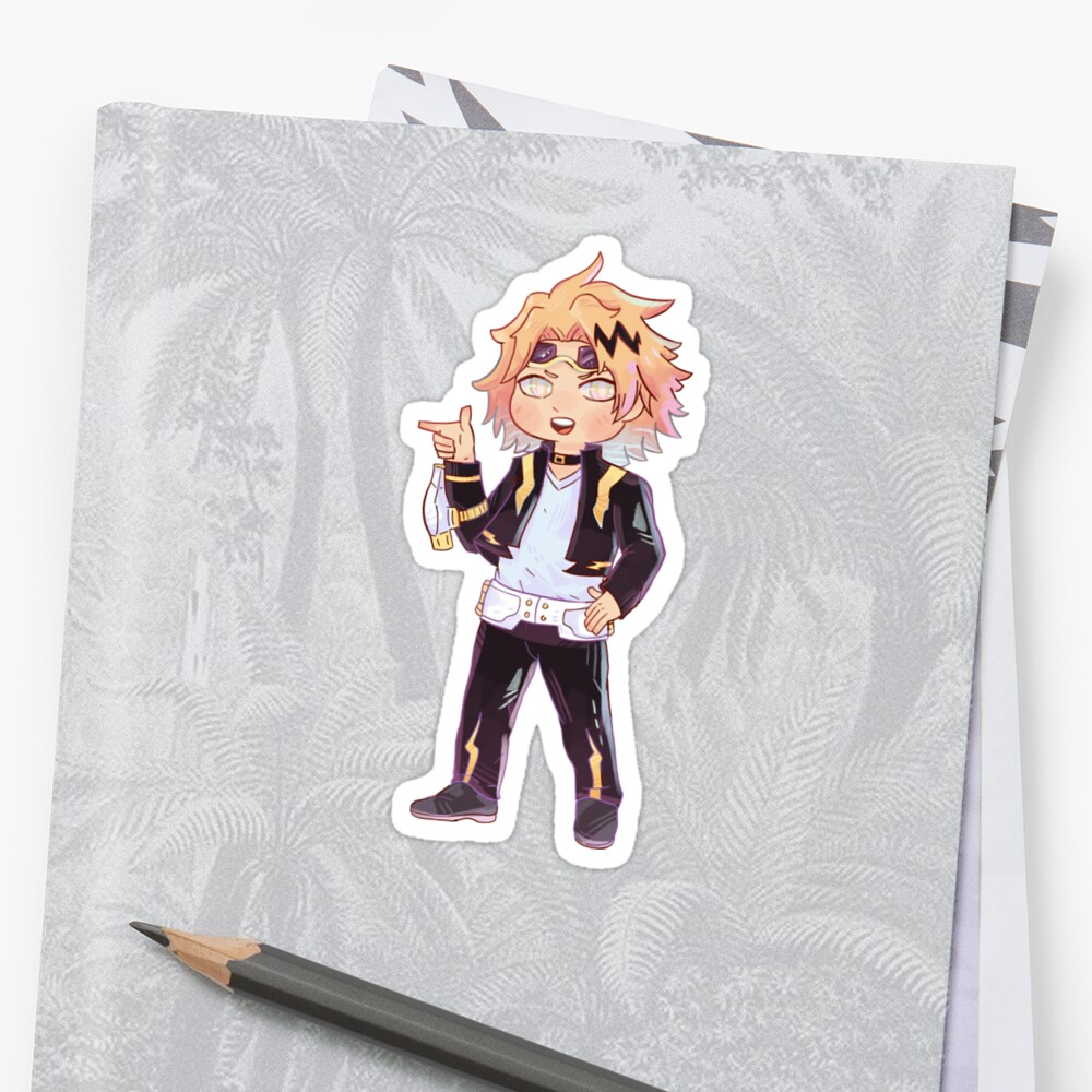 Kaminari Sticker by ArtSharkade