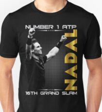 Rafa Nadal 16 th Tshirt T-Shirt