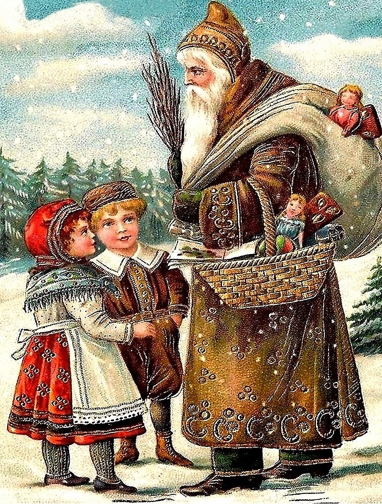 Santa Claus is bringing lot of toys to good kids on Christmas by AmorOmniaVincit