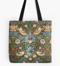 William Morris Pattern Birds and Flowers Tote Bag
