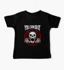 You Can Do It Death Metal Kids Clothes