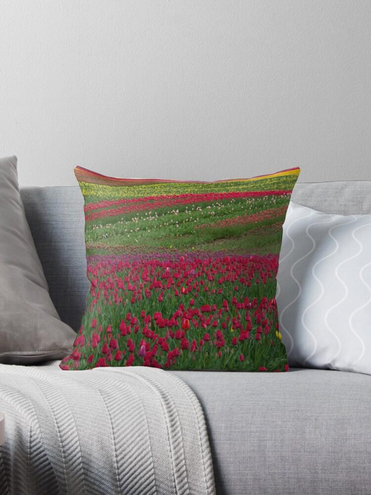 Monet Alive-tulip fields by Eti Reid