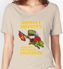 Hippity Hoppity Abolish Private Property Women's Relaxed Fit T-Shirt