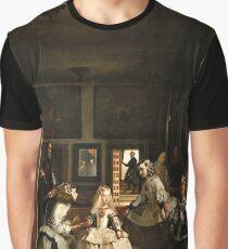 Diego Velazquez's Las Meninas Graphic T-Shirt