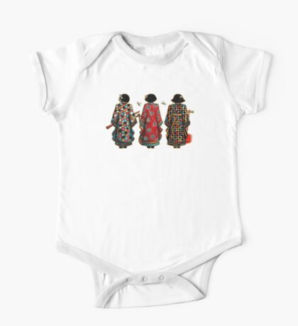 Tang Court Trio TShirt Kids Clothes
