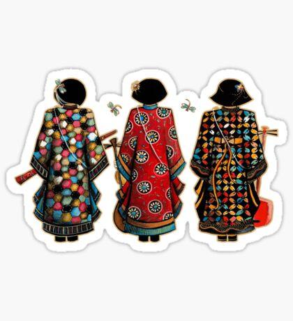 Tang Court Trio TShirt Sticker