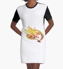 Sleeping dragons Graphic T-Shirt Dress