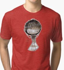 ...here are my ears!!! Tri-blend T-Shirt