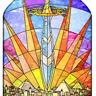 The Stained Glass Unquiet Sword by James T Kelly