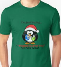 The World's Most Fascinating Christmas Penguin T-Shirt