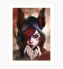 League of Legends XAYAH Art Print