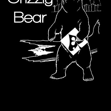 Grizzly Bear - White by nathancowle